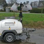 mobiele lichtwagens - genarators Bouwmeester Verhuur